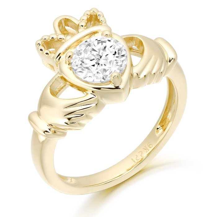 Claddagh Ring-CL46CL