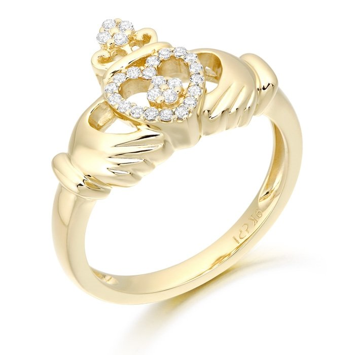 Claddagh Ring-CL48CL