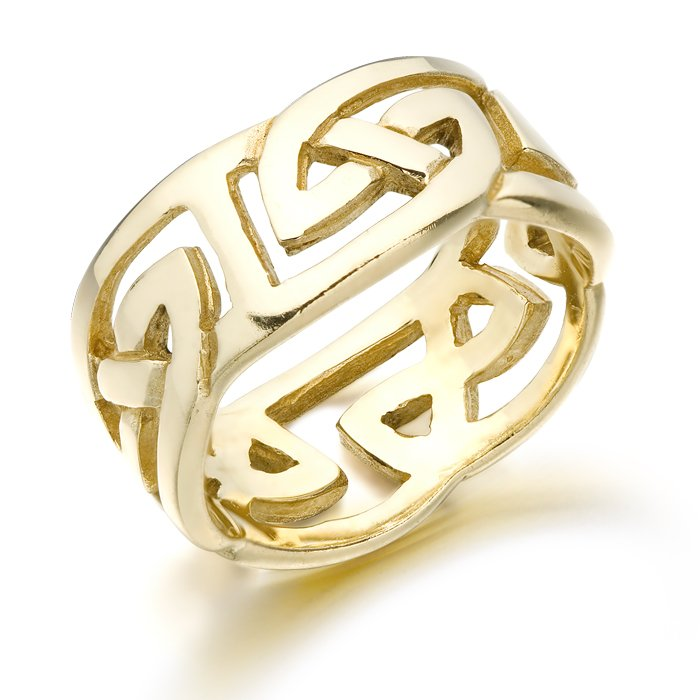 7fff791b2 Celtic Wedding Ring that you and your spouse will wear forever.