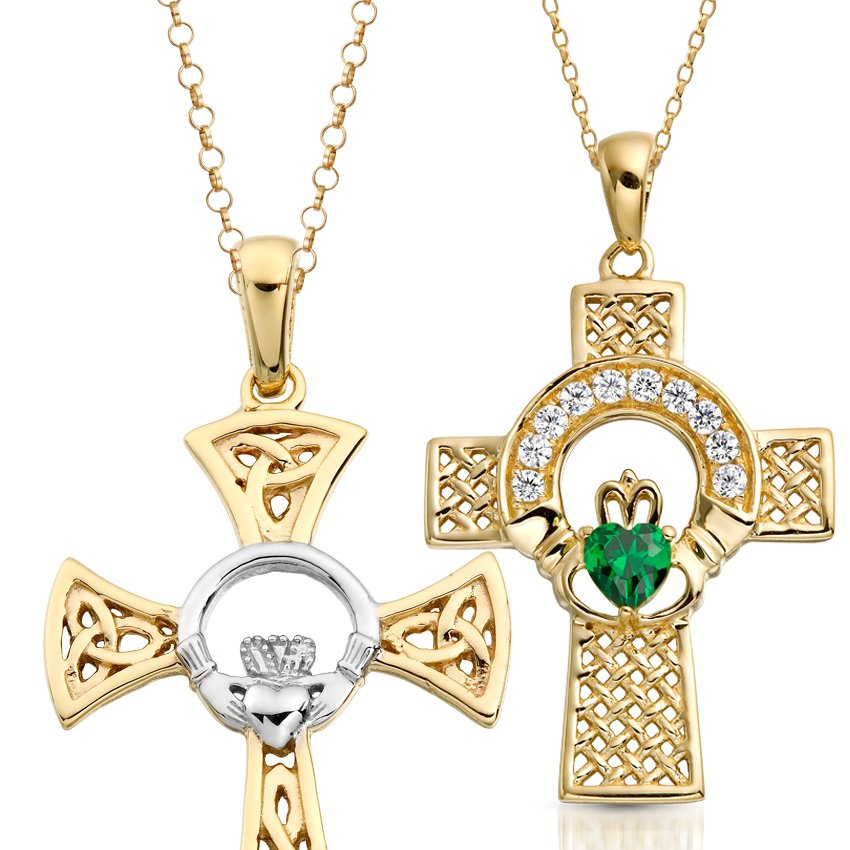 Stand Out Designs Jewelry : Claddagh crosses irish jewelry designs will help you to